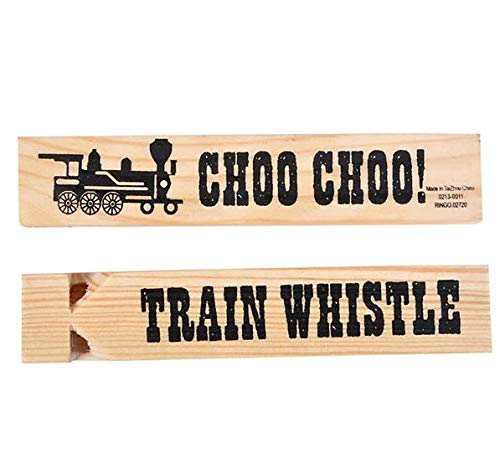 Rhode Island Novelty Wooden Train Whistles