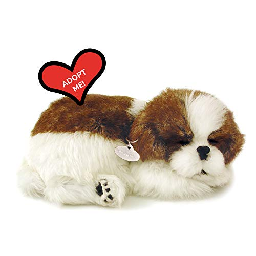 Original Petzzz Shih Tzu, Realistic, Lifelike Stuffed Interactive Pet Toy, Companion Pet Dog with 100% Handcrafted Synthetic Fur – Perfect Petzzz