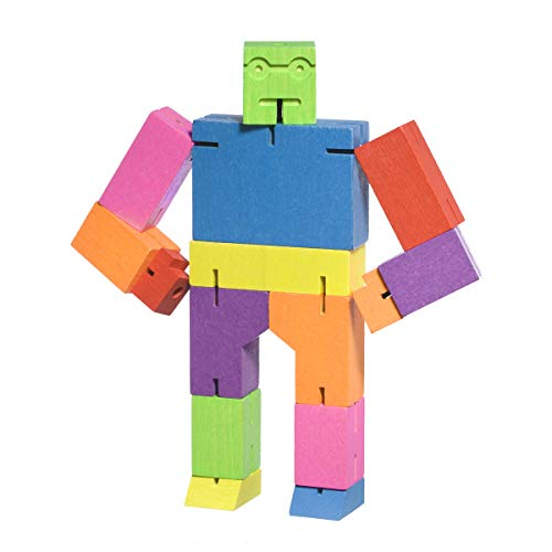 Areaware Medium Cubebot Multi Color Puzzle