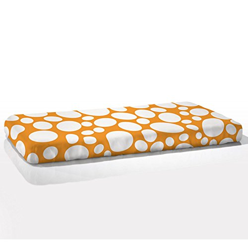 Nook Fitted Crib Sheet in Riverbed Poppy