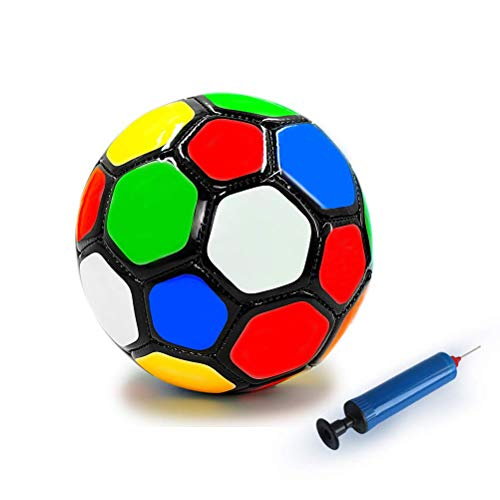 Aoneky Mini Soccer Toys for Kids Aged 1 - 3 Years Old (Multi Color)