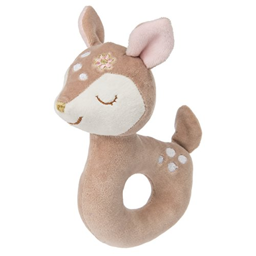 Mary Meyer Baby Rattle, Itsy Glitzy Fawn