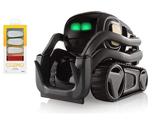 Anki Vector Robot, A Home Robot Who Hangs Out & Helps Out, with Amazon Alexa Built-in with Bonus Treads (Vector+4 Treads)