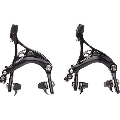 Tektro R539 Road Caliper Set Front & Rear Black 47-57mm QR