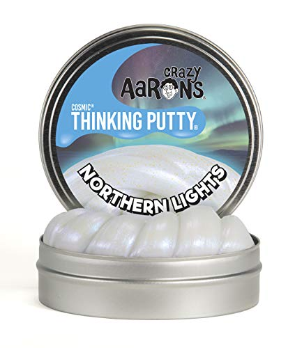 Crazy Aaron's Thinking Putty, 3.2 Ounce, Cosmic Northern Lights