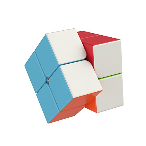 The Amazing Smart Cube [IQ Tester] 2x2 - Anti Stress for Anti-Anxiety Adults Kids - Best Puzzle Toy Turns Quicker and More Precisely