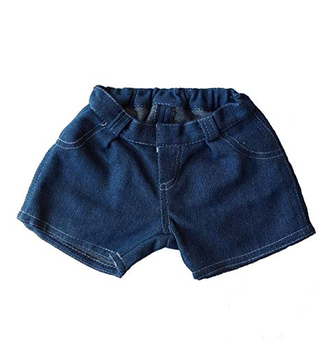 Blue Jean Shorts Teddy Bear Clothes Fit 14