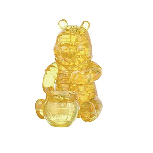 Bepuzzled Original 3D Crystal Puzzle - Winnie The Pooh - Fun yet challenging Disney brain teaser that will test your skills and imagination, For Ages 12+
