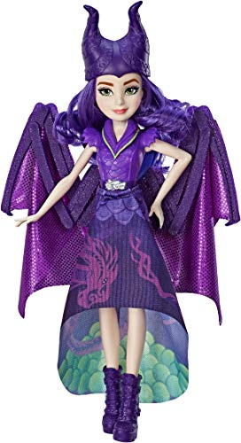Disney Descendants Dragon Queen Mal, Fashion Doll Transforms to Winged Dragon