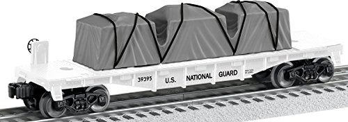 Lionel Trains National Guard US Made Flatcar
