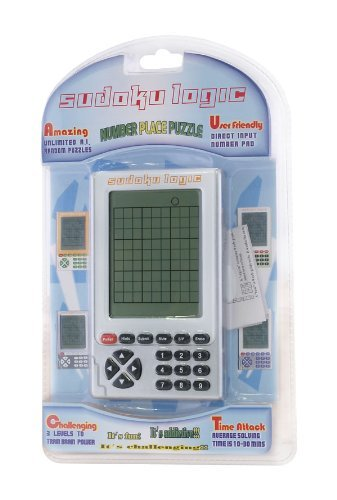 Sudoku Logic hand held number placing game
