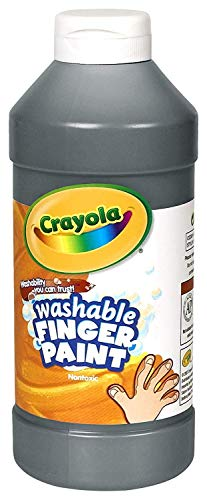 Binney & Smith Crayola(R) Washable Finger Paint, 16 Oz., Black