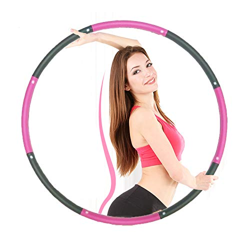 Portzon Burning Weighted Hula Hoop-3 Lb