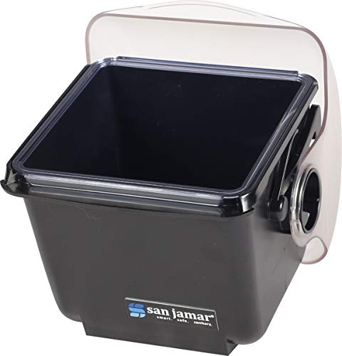 San Jamar BD2001 Mini Dome Garnish Center with Deep Tray, 2qt Capacity