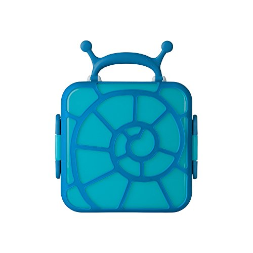 Boon Bento Lunch Box, Blue Snail