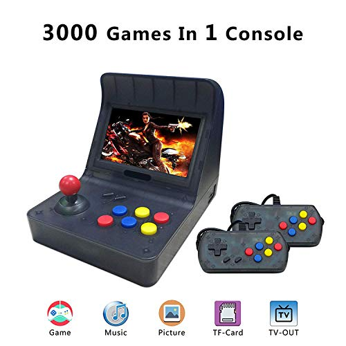 BAORUITENG Retro Game Console ,Classic Retro Video Game Player Portable Game Console 16GB 4.3