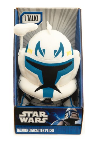 Underground Toys Star Wars Clone Rex Talking Plush