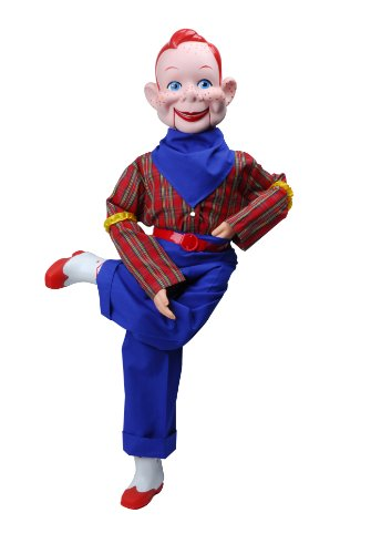 Howdy Doody Dummy, Celebrity Ventriloquist Doll, Star of Howdy Doody TV Show, 'All American Boy' w/Red Hair & Freckles. BONUS EBook 'How to Be a Ventriloquist'