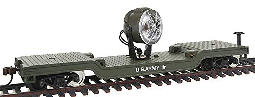 Model Power HO Flat w/Searchlight, US Army MDP98664