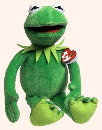 TY The Muppets Kermit The Frog Plush Toy