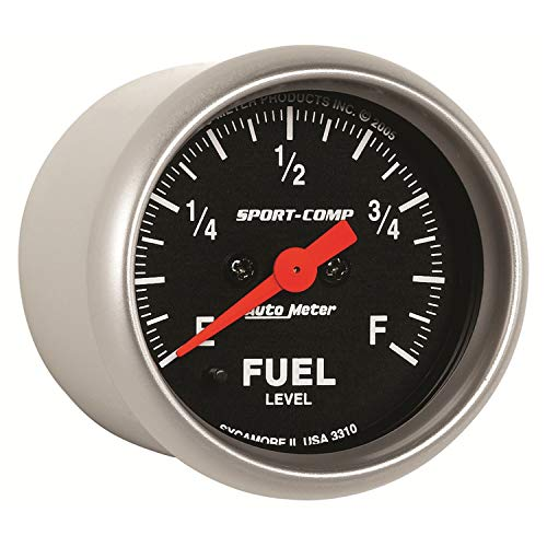 Auto Meter 3310 Sport-Comp Electric Fuel Level Gauge