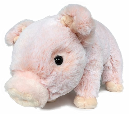 Ice King Bear Lifelike Baby Pig Stuffed Animal Piggy - Piglet Plush Toy - 12 Inches Length (Original)