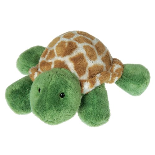 Mary Meyer PufferBellies Stuffed Animal Soft Toy, Pokey Belly Turtle, 7-Inches