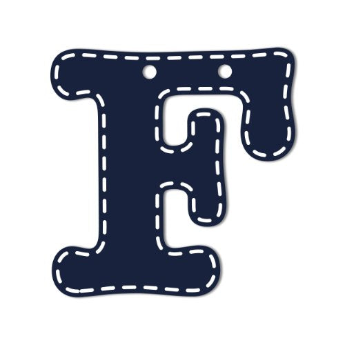 CoCaLo Mix & Match Navy Hanging Letters, F