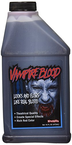 Pint of Blood; Halloween, Vampire Blood; 16 Oz, Package may vary