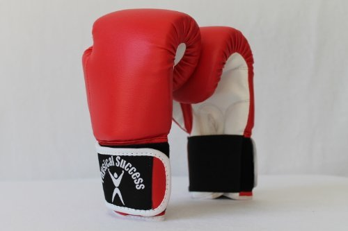 Physical Success Partners Kids Boxing Gloves Red 2oz