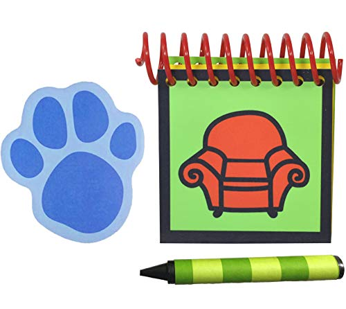 Handcrafted Handy Dandy Inspired Steve Notebook with Large PAW Print Clues