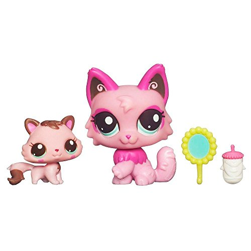 Littlest Pet Shop Cutest Pets Series 2 Figures Mommy Baby Cats