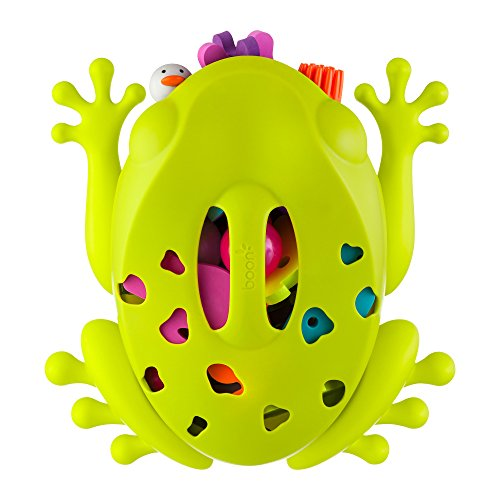 Boon Frog Pod Bath Toy Storage Scoop, Green