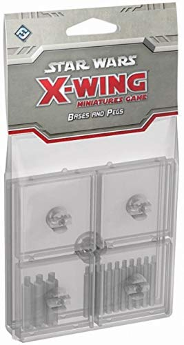 Star Wars: X-Wing - Clear Bases & Pegs