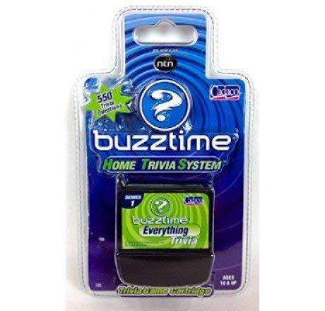 Buzztime Everything Trivia Cartridge