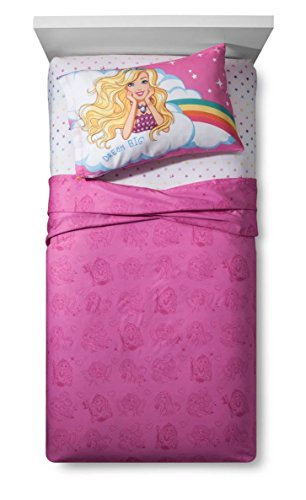 Mattel Barbie Unicorn Dreamtopia Twin Sheet Set Super Soft