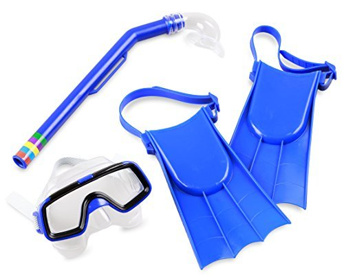 Balance Living Fins, Mask and Snorkel Pool Toy Set (for Ages 3-8)