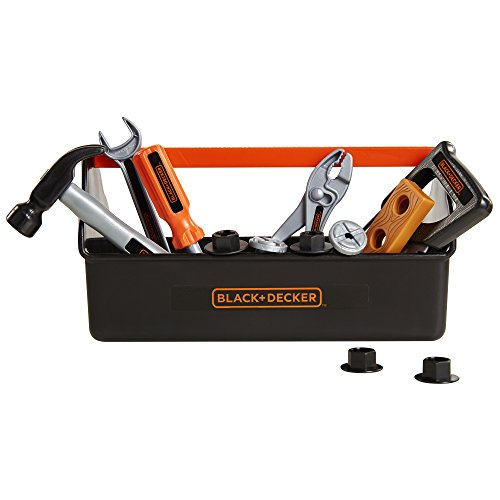 BLACK+DECKER Jr. My First Tool Box - 14 Piece Set