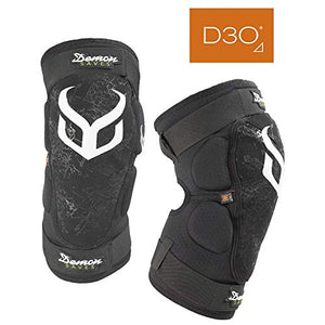 Demon Hyper X D30 Mountain Bike Knee pad | BMX | MX | Snowboard (Small)