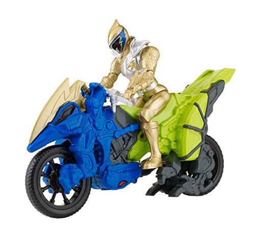 Power Rangers Dino Charge - Dino Cycle with 5