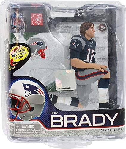 Series 27 Tom Brady 4 - New England Patriots 6 Inch Action Figure