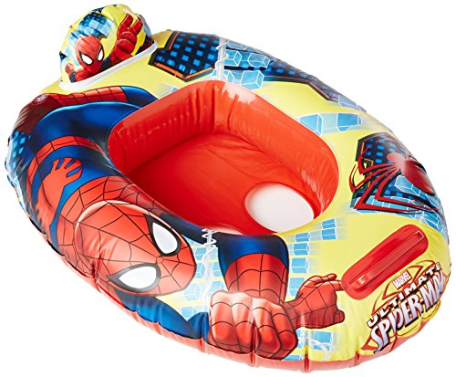 Marvel Spider-Man Kids Inflatable Pool Junior Ride-In Float with Seat