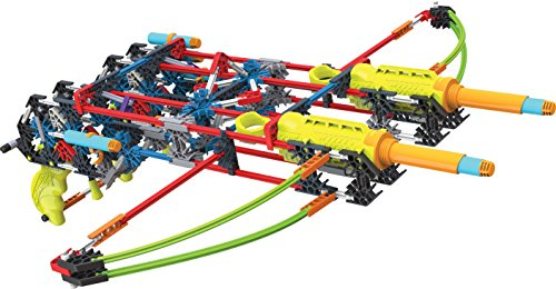 K'NEX K-FORCE Build and Blast – Dual Cross Building Set – 368 Pieces – Ages 8+ – Engineering Education Toy