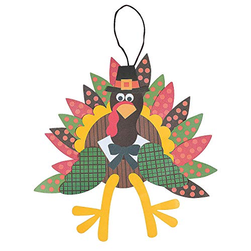 Paper Turkey Craft Kit - Crafts for Kids and Fun Home Activities