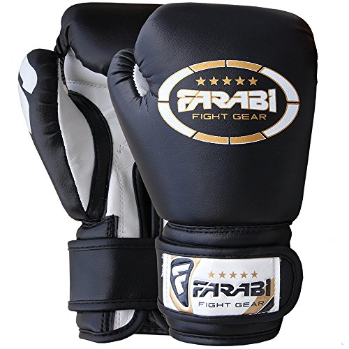 Farabi Sports Kids Boxing Gloves Junior Boxing Gloves Junior MMA Muay Thai Kickboxing and Punching Bag Mitts 6Oz