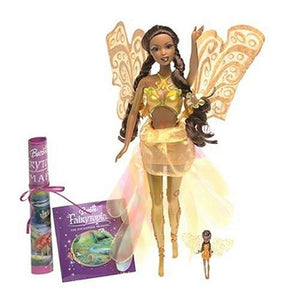 Mattel Barbie Fairytopia - Yellow Jeweldrop Wonder Fairy Doll - Kindlee