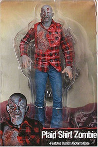 "NECA Cult Classics Series 4 Action Figure Plaid Zombie From ""Dawn of the Dead"""
