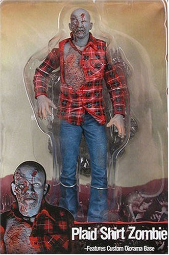 NECA Cult Classics Series 4 Action Figure Plaid Zombie From