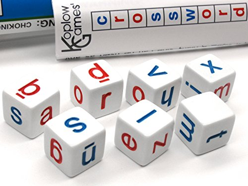 Koplow Games Crossword Dice Educational Travel Game