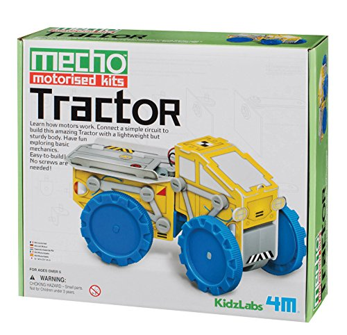 4M KidzLabs Tractor Mecho Motorized Kit